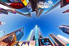 Tidfyrkanten är ett symbol av New York Fotografering för Bildbyråer