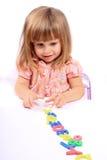 tidig barndomutveckling Arkivbild
