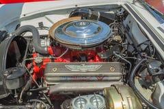 Tidig Ford Thunderbird V-8 motor Royaltyfri Bild