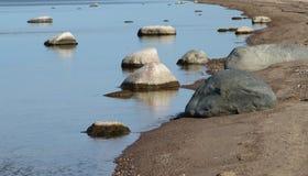 Tidig höst på den Riga Gulf Coast Arkivfoton