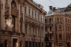 Tidig huvudstad av Ryssland arkivbild