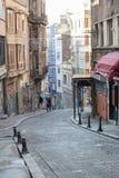 tidig istanbul morgon Arkivbilder