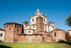 Tidig kristen av San Lorenzo Maggiore royaltyfri foto
