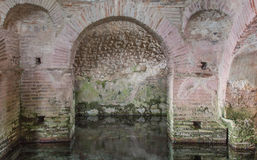 Tidig kristen baptistery Royaltyfri Foto