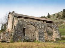 Tidig kristen baptistery Royaltyfri Fotografi