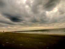 Tidig molnig morgon Fotografering för Bildbyråer