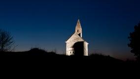 tidig natt för kristenkyrka Fotografering för Bildbyråer