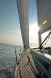 tidig segling Fotografering för Bildbyråer