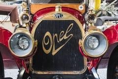 Tidig tappning klassiska Opel Automoblie royaltyfri fotografi