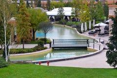 Tidiga Autumn Park Arkivfoto