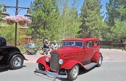 Tidiga Ford Sedan Arkivbilder
