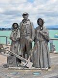 Tidiga nybyggare som är minnes- i Nelson, Nya Zeeland Royaltyfria Foton