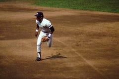 Tidigare Baseman Willie Randolph för New York Yankee andra Arkivfoto