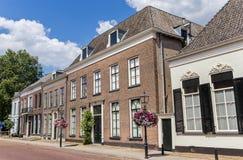 Tidigare domstolsbyggnad i den historiska mitten av Doesburg Arkivbilder