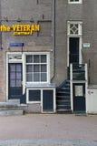 Tidigare judiskt hus på Herengracht 561, Amsterdam Royaltyfri Fotografi