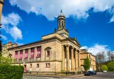 Tidigare Kelvingrove kyrka i Glasgow Arkivfoton