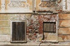 Tidigare klosterfängelse i den Vyssi Brod kloster Arkivbild