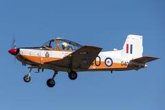 Tidigare kungligt flygplan VH-CTK A19-040 för rymd CT-4A Airtrainer för australierflygvapen RAAF nyazeeländskt royaltyfri bild