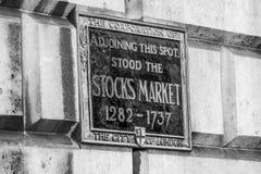 Tidigare materielmarknad i London - LONDON - STORBRITANNIEN - SEPTEMBER 19, 2016 Arkivfoton