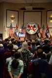 Tidigare president Bill Clinton Speaks till Hillary Supporters Royaltyfri Foto