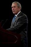 Tidigare president George W. Bush Royaltyfria Bilder