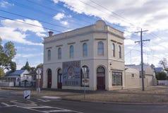 Tidigare pub, Ballarat, Australien royaltyfri bild