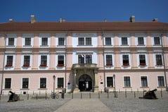 Tidigare Slavonian kommendörkapten Headquarter, Osijek, Kroatien Royaltyfri Fotografi
