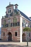 Tidigare stadshus av Appingedam i Nederländerna Royaltyfria Bilder