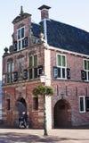 Tidigare stadshus av Appingedam, Nederländerna Fotografering för Bildbyråer