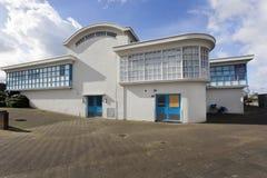 Tidigare vattenförsörjning som bygger de Esch i Rotterdam Arkivbilder