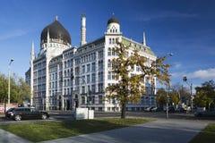 Tidigare Yenidze cigarettfabrik Arkivfoton