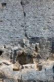 Tidigt medeltida vaggar den lättnadsMadara ryttaren från perioden av första bulgariska välde, listan för UNESCOvärldsarvet, Bulga Arkivfoton