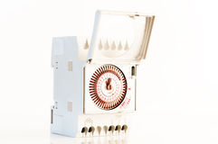 Tidmätare för elektrisk ström Fotografering för Bildbyråer