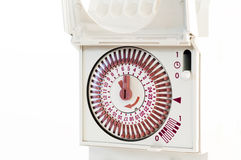 Tidmätare för elektrisk ström Royaltyfria Foton