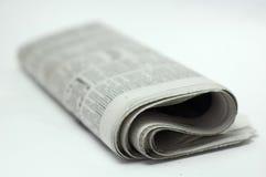 Tidning. royaltyfria bilder