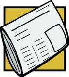 tidning vektor illustrationer