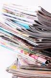 Tidningar royaltyfria bilder