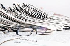 Tidningar royaltyfri fotografi