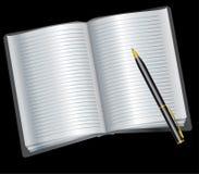 tidsbeställningsbok Arkivbild