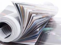 tidskrifter Arkivfoton