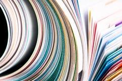 tidskriftrulle Arkivbilder