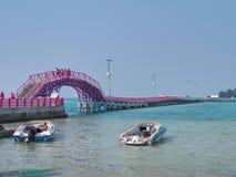Tidung海岛,印度尼西亚 库存图片