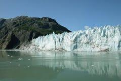 Tidvattenglaciär i nationalparken Alaska för glaciärfjärd Royaltyfri Foto