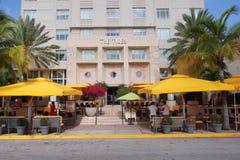Tidvattenhotellet i Miami Beach, Florida arkivfoto