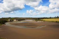 Tidvattens- Carew maler royaltyfria bilder