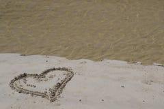Tidvattens- hjärta Arkivbilder