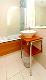 Tidy bathroom Royalty Free Stock Photo