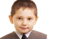 Tidy little boy Royalty Free Stock Photo