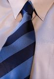 The tie. Tie and collar Royalty Free Stock Photo