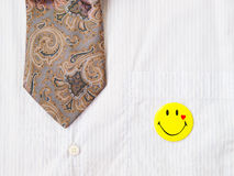 Tie and badges Stock Photography